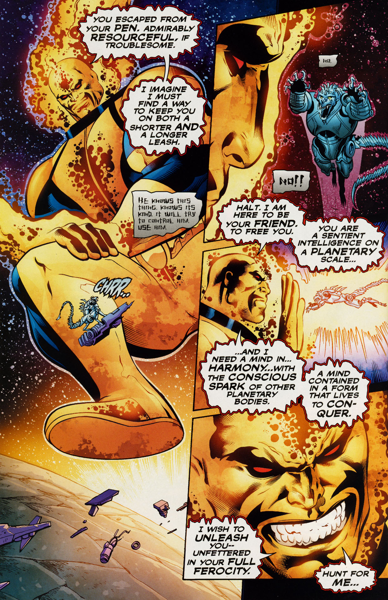 Read online Trinity (2008) comic -  Issue #41 - 27