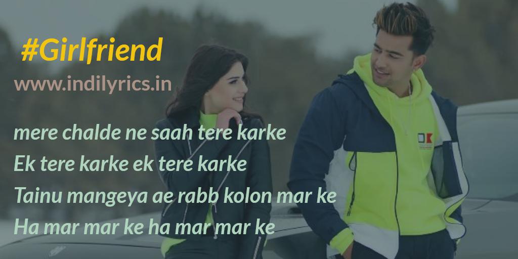 girlfriend jass manak ft zoya punjabi song lyrics english translation real meaning