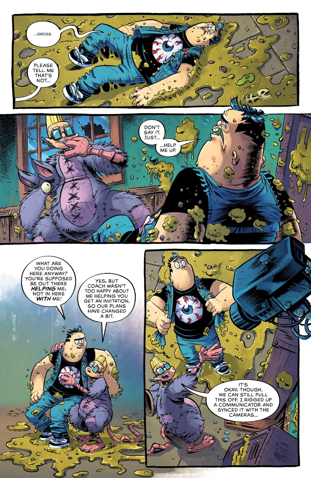 Read online Bully Wars comic -  Issue #4 - 12