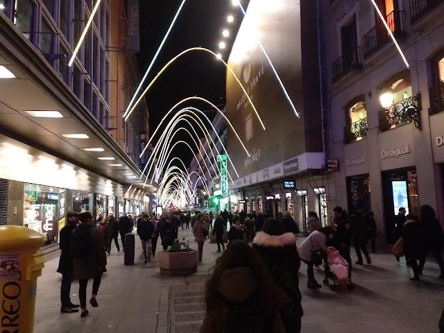 Así son las luces de Navidad de este año en Madrid