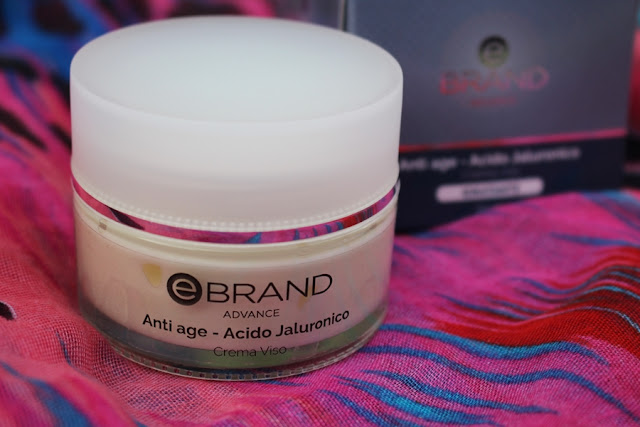 Ebrand crema viso all'acido ialuronico Advance