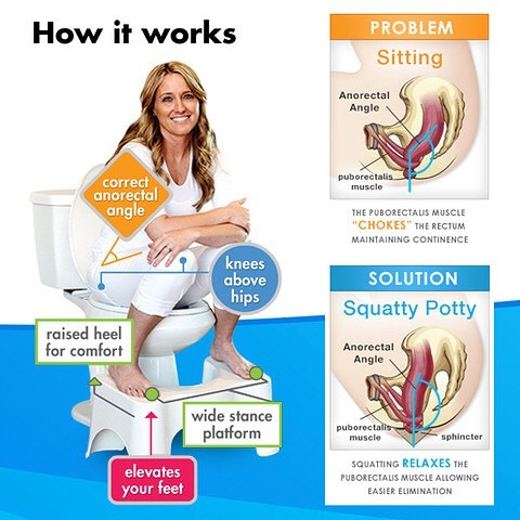 All Around Pinay Mama Squatty Potty