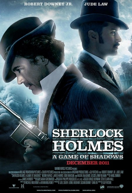 """Meet Moriarty And See A """"New"""" Poster For SHERLOCK HOLMES: A GAME OF"""