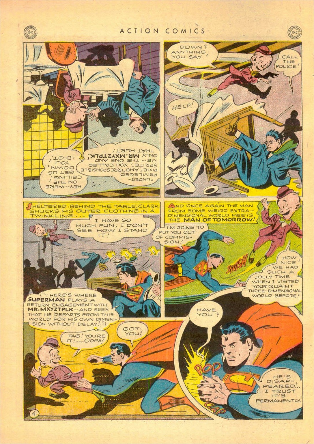 Read online Action Comics (1938) comic -  Issue #80 - 5