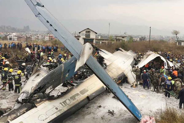 Bodies Recovered as US-Bangla Flight Carrying 71 Crashes Near Kathmandu Airport, New Delhi, News, Flight collision, Nepal, Airport, Injured, Accidental Death, National