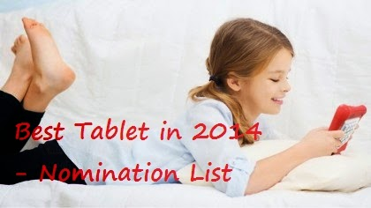 Top best tablets in 2014 to buy online