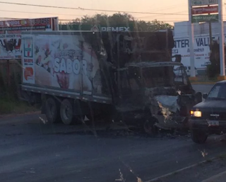 Confirman fueron 32 narcobloqueos en Reynosa Tamaulipas