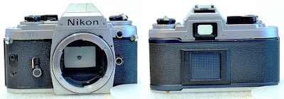 Nikon FG (Chrome)  Body #216