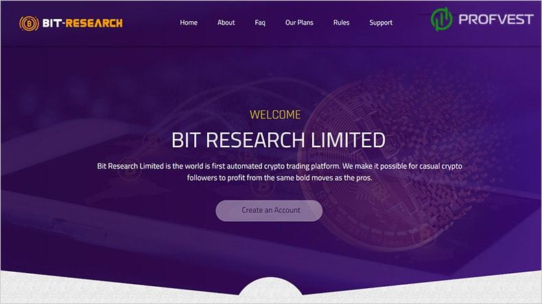 Bit-Research обзор и отзывы HYIP-проекта