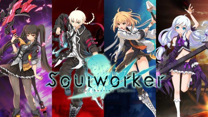 Une bannière du jeu SoulWorker