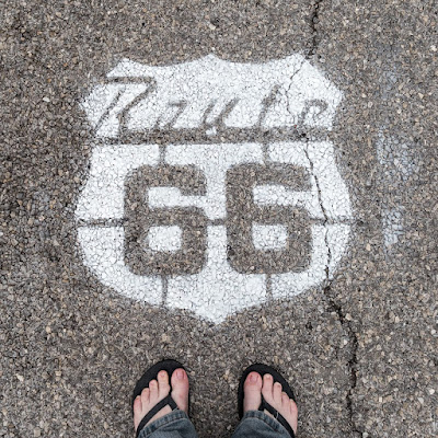 Route 66 sign Oklahoma_by_Laurence Norah