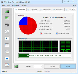 RAM Saver Professional 17.0 Multilingual Full Version