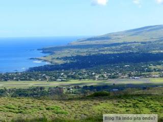 vista de Hanga Roa