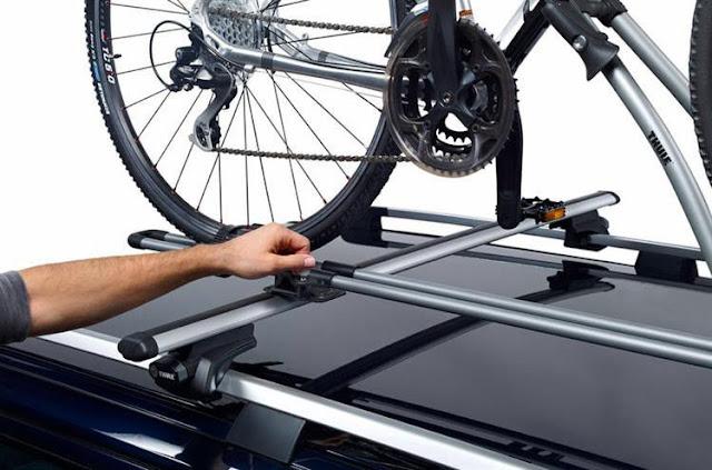 Bagażnik rowerowy na dach 2 x Thule FreeRide 532