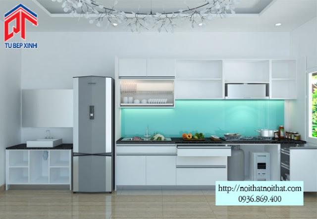 Các kiểu bố trí tủ bếp thông dụng nhất hiện nay