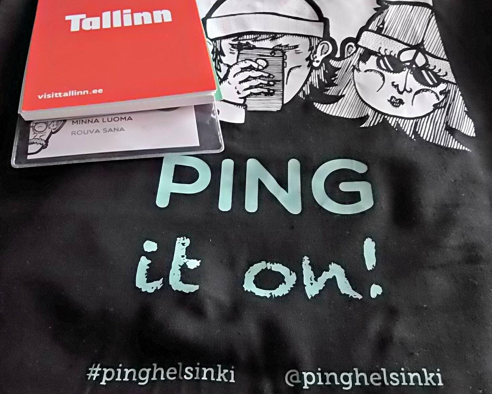 Rouva Sana toistamiseen mukana PING Helsingissä
