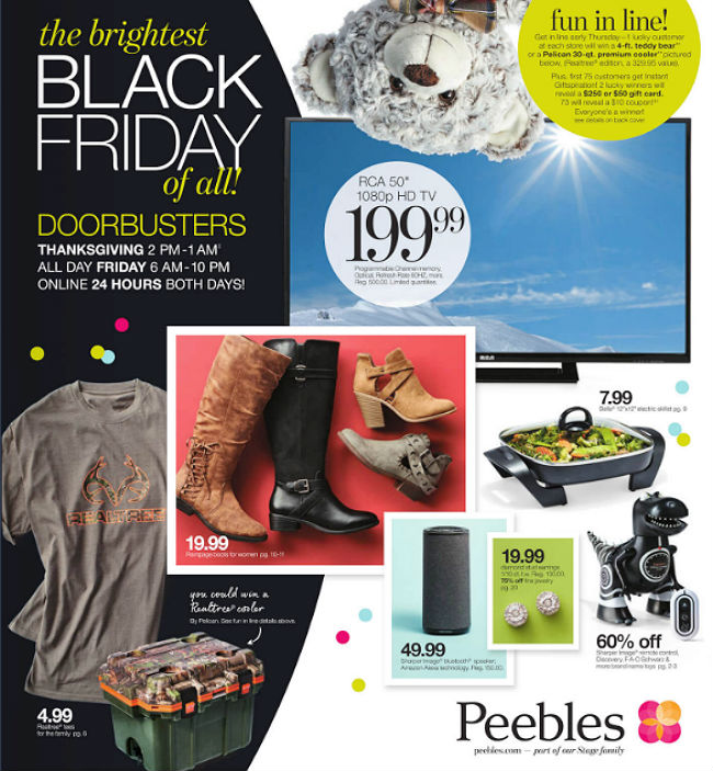 Peebles Black Friday 2017 Ad