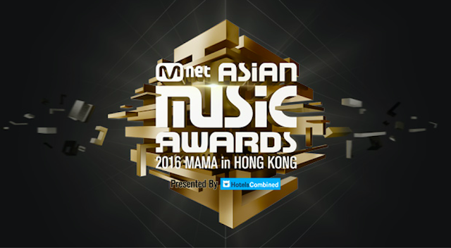 Mnet Asian Music Awards 將在12/2於香港舉行頒獎典禮