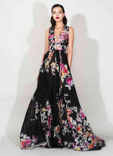 estampado floral tendencias de moda de temporada ss16