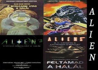 Alien könyvek – Az Alien filmregények