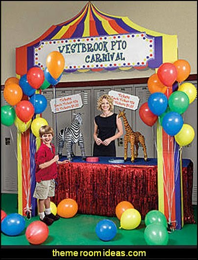 Personalized Carnival Booth