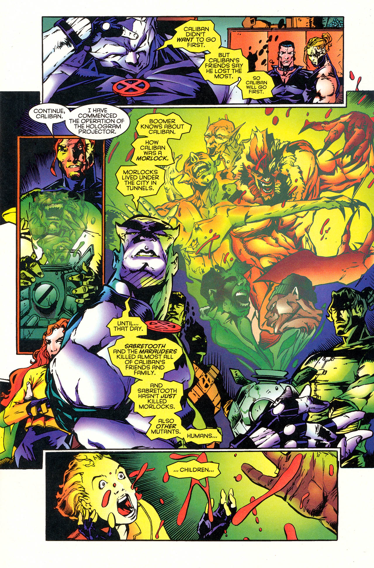 Read online X-Force (1991) comic -  Issue #48 - 8