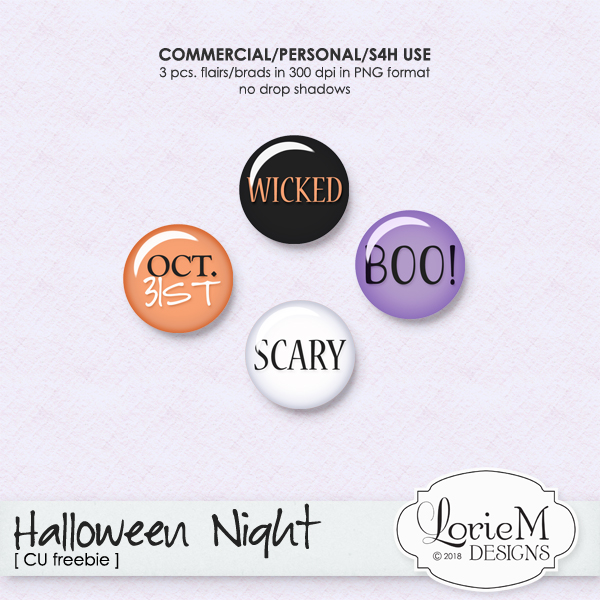 New Halloween Night Bundle 45% OFF + FWP & CU Freebie