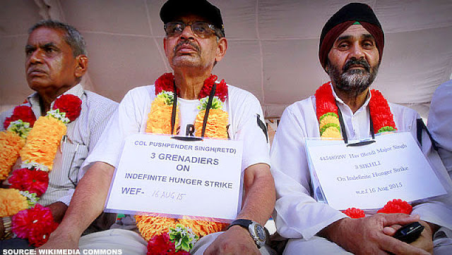 INDEPENDENT MEDIA | OROP: Demand or Redress of Injustice? By Commodore C Uday Bhaskar, TwoCircles.Net