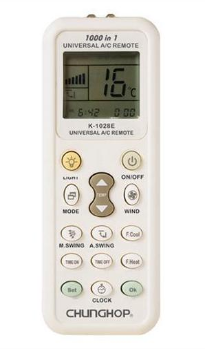 Daikin Remote Control Instructions