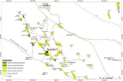 onshore Ixachi well