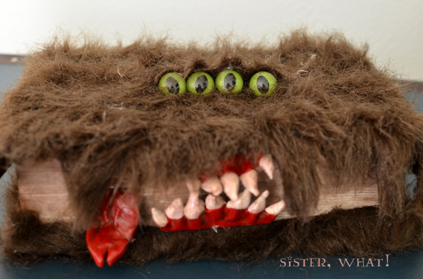 monster book of monster halloween book