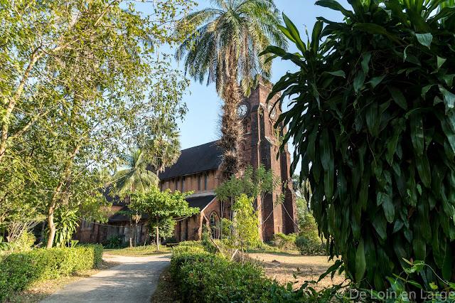 Eglise Saint Matthieu - Mawlamyine - Birmanie - Myanmar