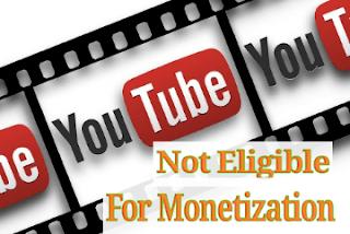 Cara Ngatasi Video Youtube Tidak Bisa Di Monetisasi