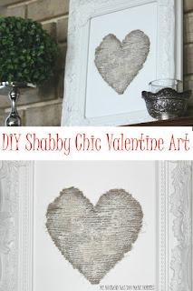 Shabby Chic Twine Valentine