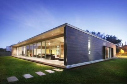 minha casa Casas modernas com um arranjo minimalista de elementos