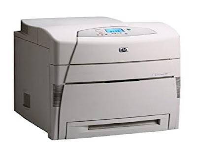 Image HP Color LaserJet 5500 Printer Driver