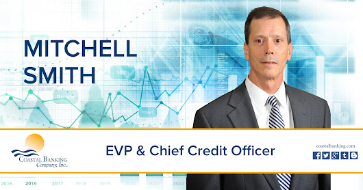 CBC National Bank Announces the Hiring of Mitchell Smith As Chief Credit Officer