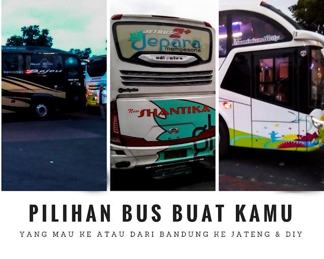 pilihan bis jurusan Bandung Pekalongan