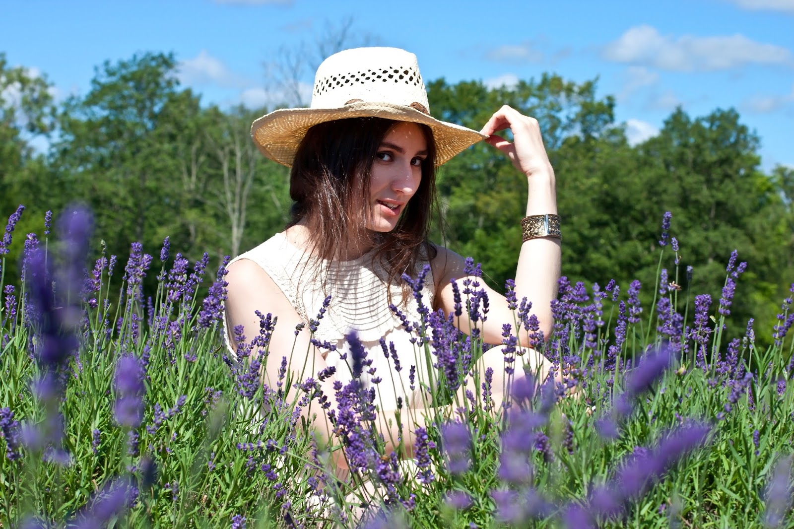 Country Feels in Lavender Fields
