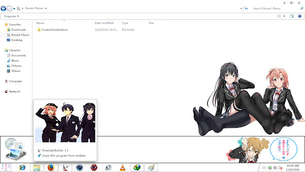 Theme Window 7 Oregairu Zoku By AoAnime 3