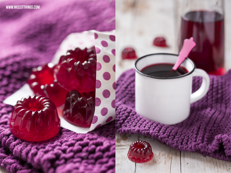 Fruchtgummi selber machen Kirsch Glühwein Fruchtgummi Geschenkidee zu Weihnachten DIY Gummibärchen #fruchtgummi #diy #gummibärchen #kirsch #glühwein #geschenkidee #weihnachten #weihnachtsgeschenk #geschenkeausderküche