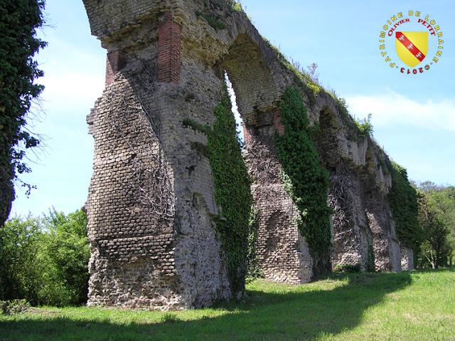 L'aqueduc aérien à Ars-sur-Moselle
