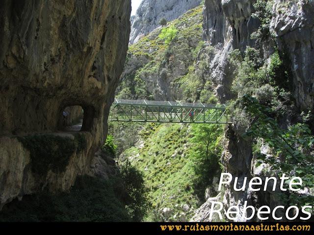 Ruta del Cares: Puente Rebecos