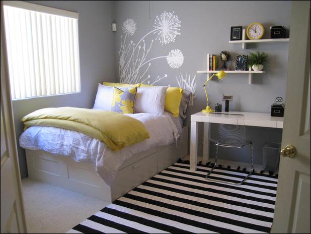 Not Pink and Beautiful Teen Girl Bedrooms - Home ... on Beautiful Teenage Bedrooms  id=70049