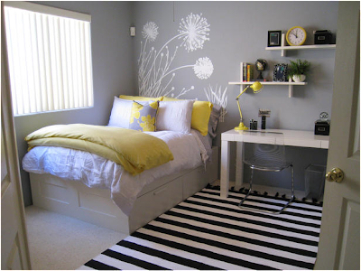 Not Pink and Beautiful Teen Girl Bedrooms | Residence Furniture Ideas