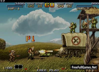 Metal Slug 1 PC Game Free Download Full Version