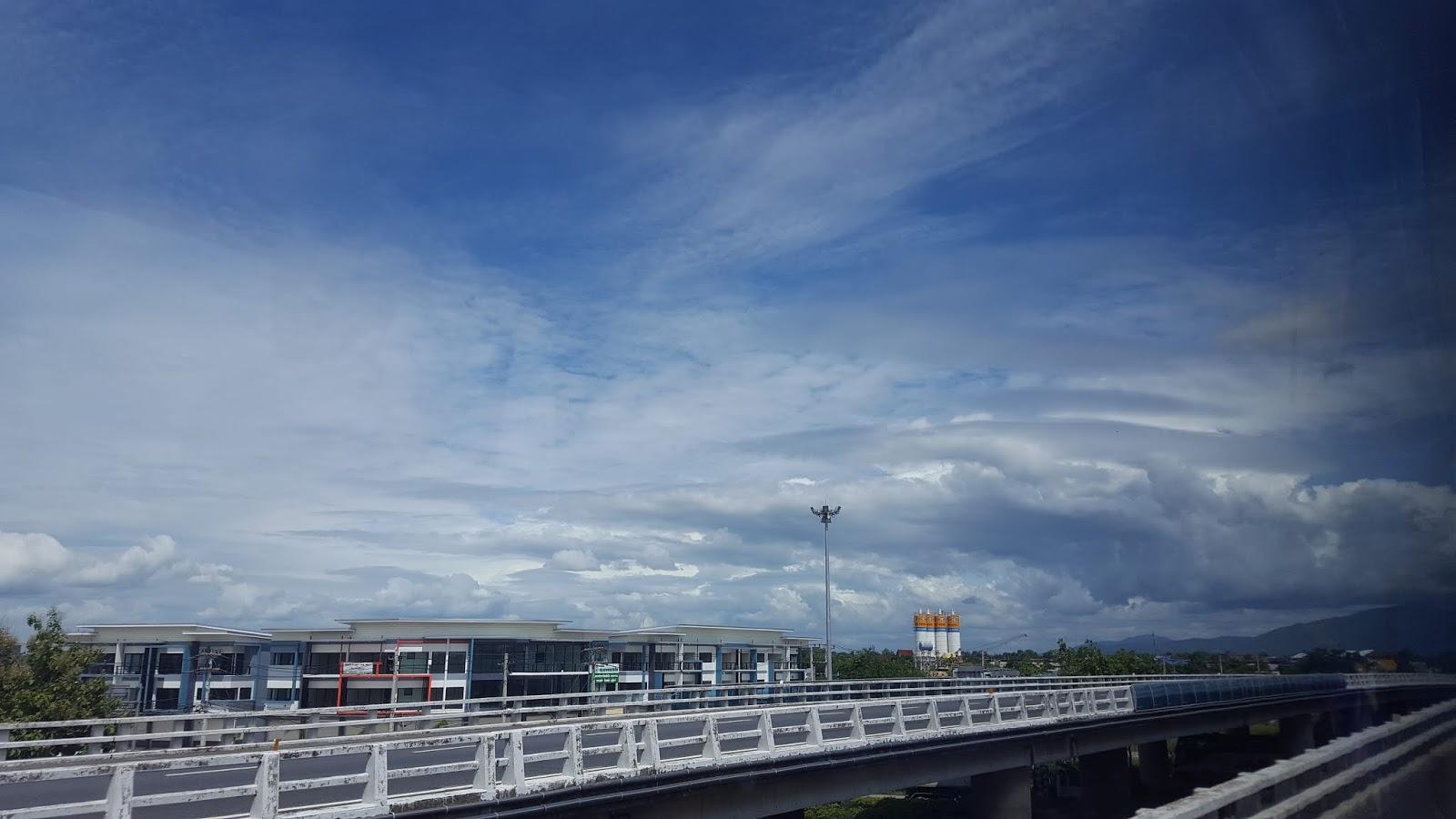 泰國天氣非常好