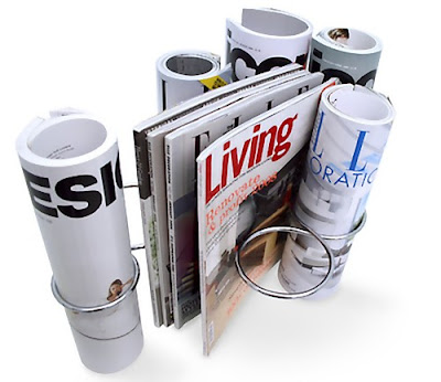 Cool Magazine Holders and Creative Magazine Racks (15) 1