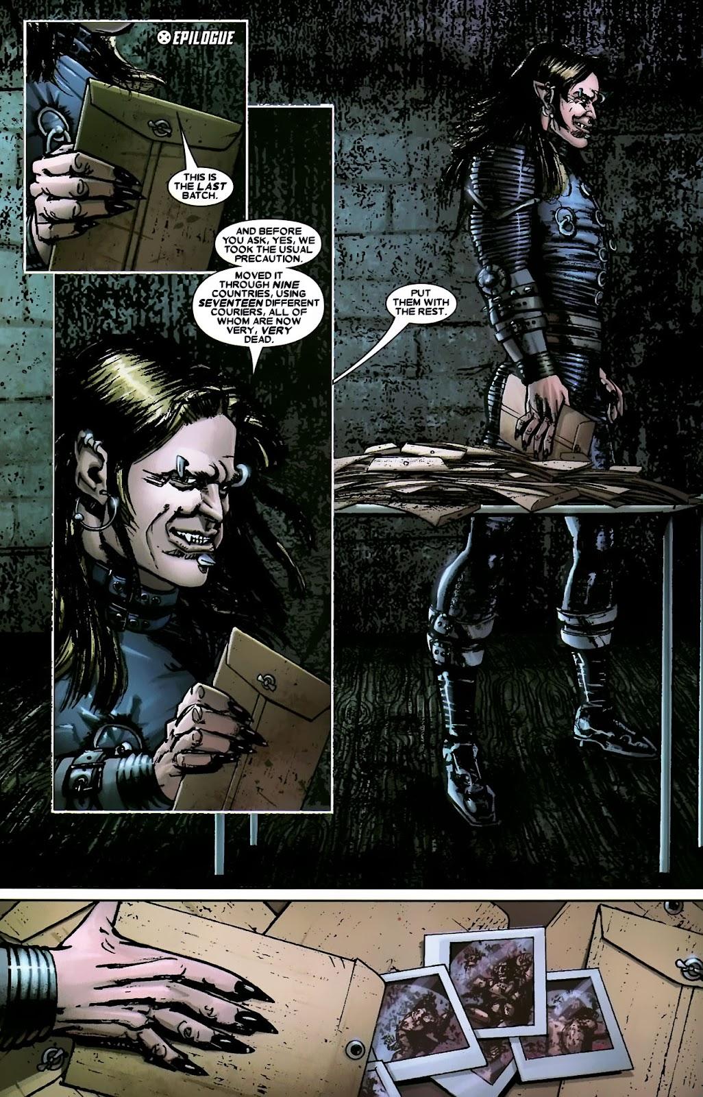 Read online Wolverine (2003) comic -  Issue #56 - 36