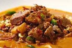 Resep praktis (mudah) krecek daging spesial (istimewa) yang enak, sedap, gurih, nikmat dan lezat